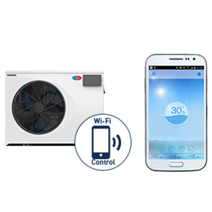 EvoHeat EVO Force i Pool Heat Pump Phone App